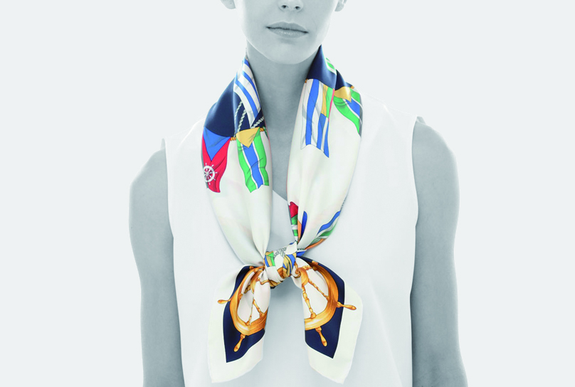 Marca originalsスカーフ着用イメージ