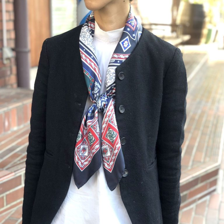 【クリスマス限定カラー】宝石箱 (CM5-415) 伝統横濱スカーフ 大判 シルクツイル スカーフ